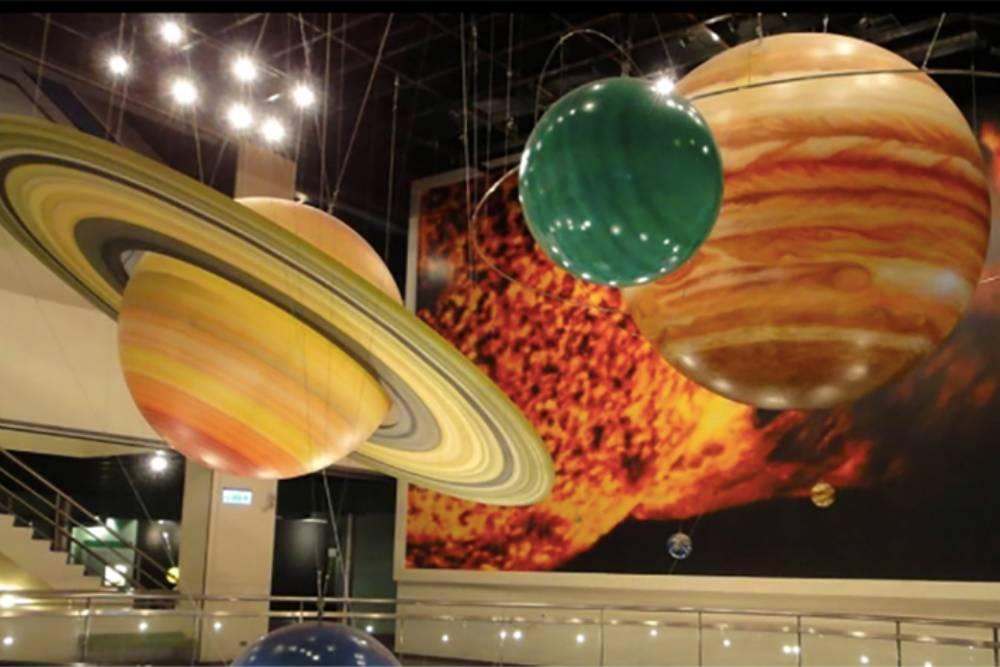 假日親子出遊該去哪? 到天文館一起探星玩科學