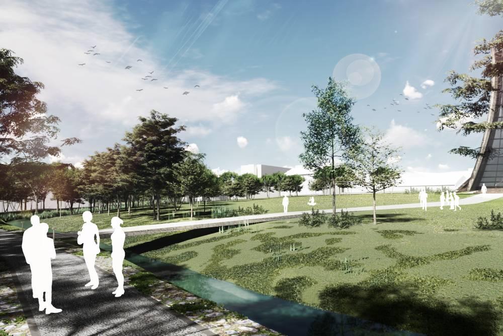 台中市府x東海大學 把東大溪變得更美麗
