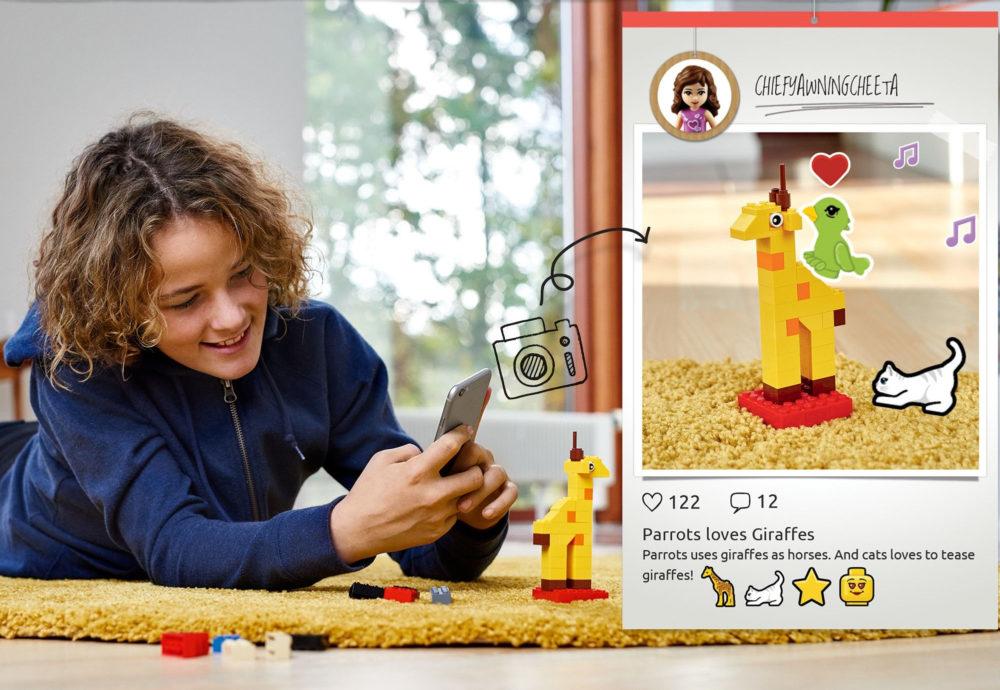 樂高推出小朋友專用版IG:LEGO Life搶攻兒童社群世界