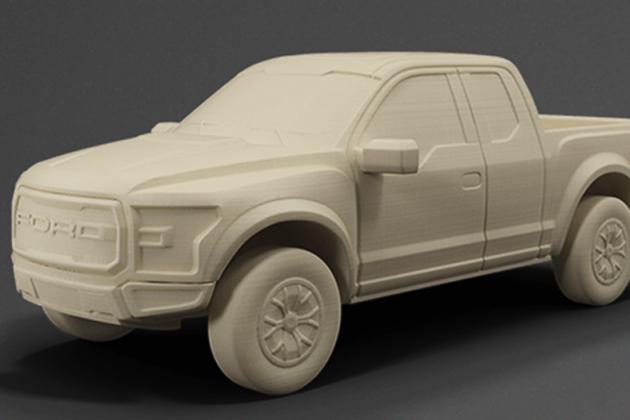 福特嘗試3D列印汽車大型零件,更輕更省油?