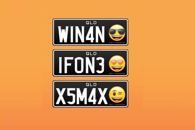 不只有數字與英文字母!澳洲推出世界第一個「emoji車牌」