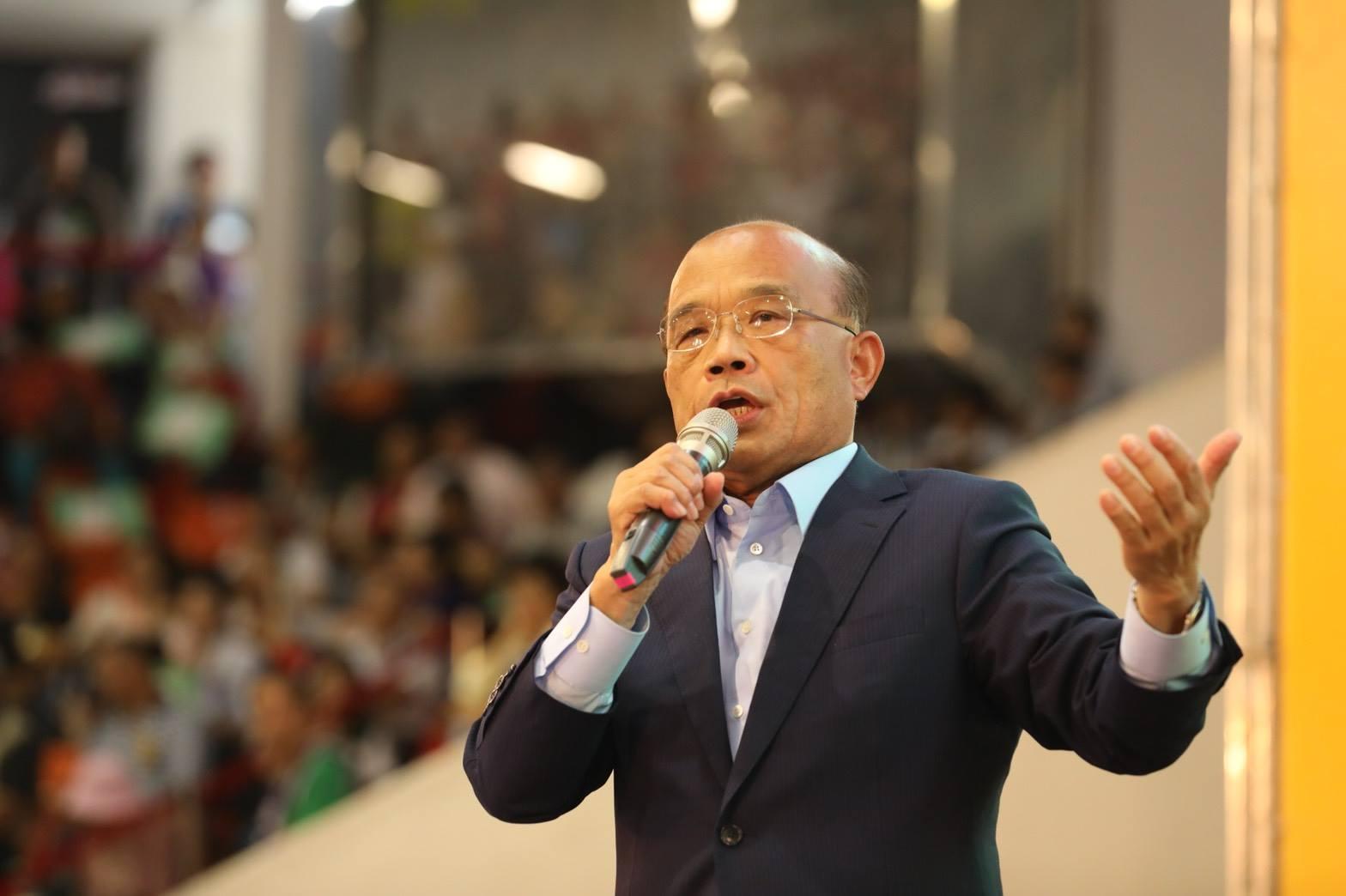 你覺得呢?綠委提台灣英譯改名 蘇貞昌大喊母湯回「台灣更有名!」