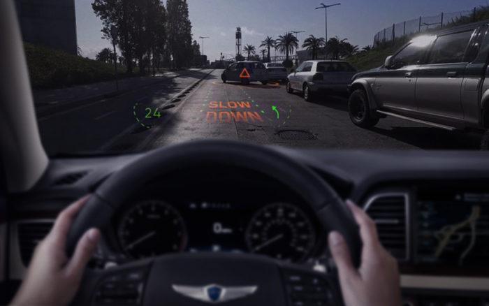 導航搬上擋風玻璃!現代汽車推全球首款全像AR導航系統