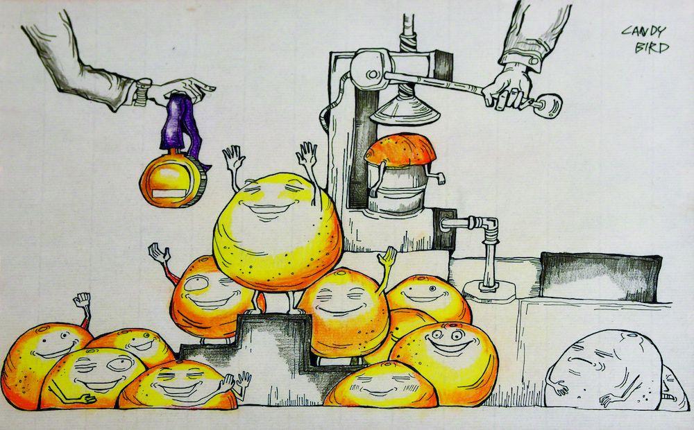 台灣塗鴉藝術家Candy Bird個展 來欣賞邊緣人的開場白
