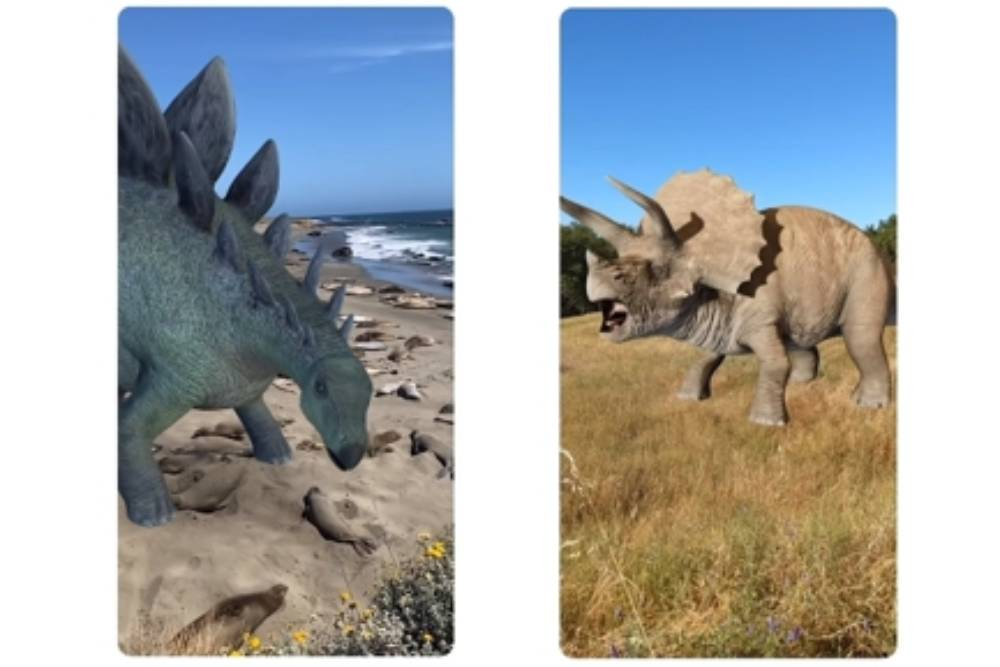 Google帶你探索侏儸紀!AR恐龍在眼前 叫聲、體型100%還原呈現