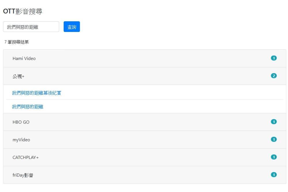 想看的電影、動畫哪裡有?PTT網友自製OTT影音搜尋平台 一鍵找出正版觀影網站