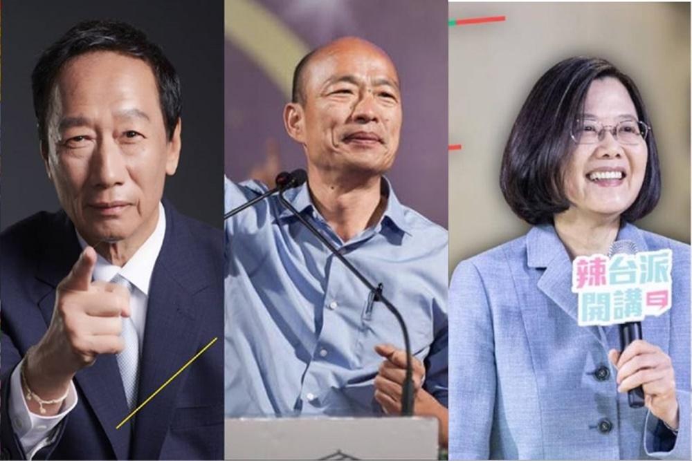 【匯流民調】郭台銘網路聲量飆至第一 韓、蔡兩人大幅下降恐因這事有關!
