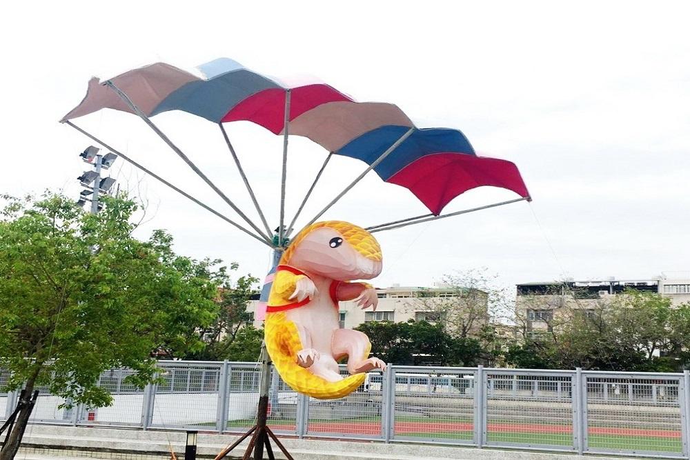 台灣燈會「極限運動燈組」將移至大里運動公園內展出