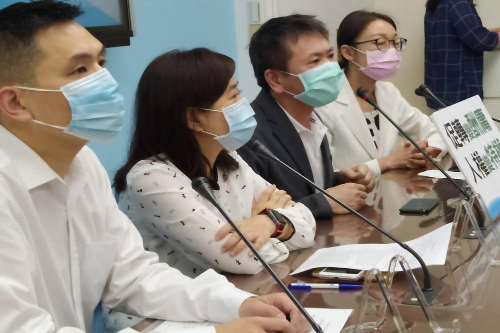 為避爭議蔣萬安主動缺席 國民黨團反對促轉會楊翠等人事案