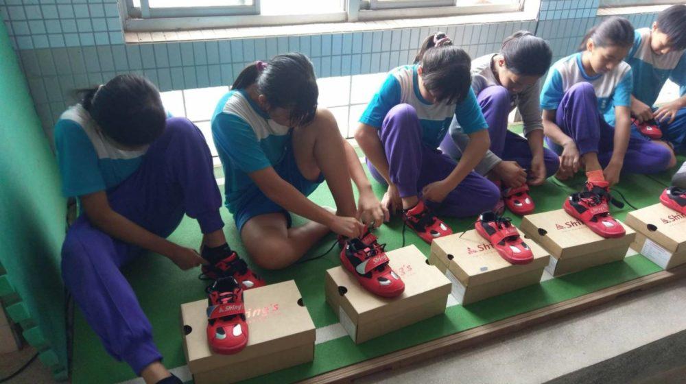 540雙拔河鞋種下希望  全台小小拔河選手拚為台灣爭光