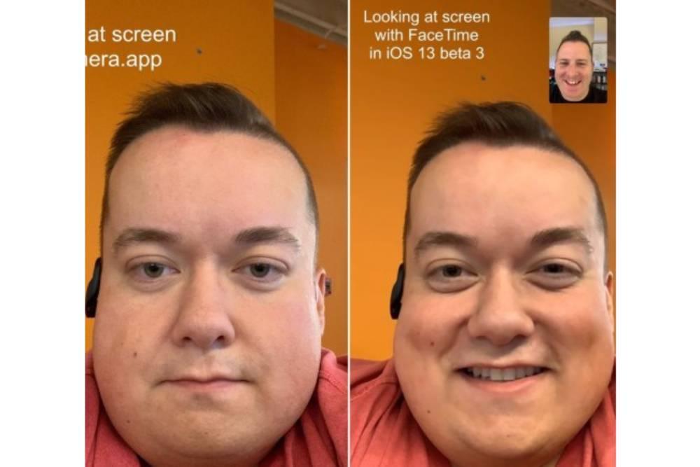 視線不再飄移!iOS 13增新功能讓用戶Facetime時能眼對眼交談了