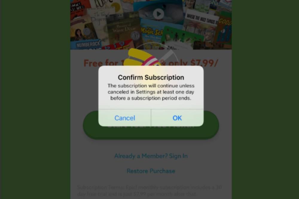 蘋果改進APP訂閱流程 增加二次確認鈕消費更有保障!