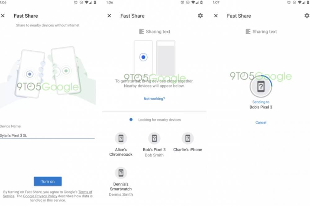 不用再羨慕果粉!Android Q將新增類似Airdrop超快速的傳輸功能
