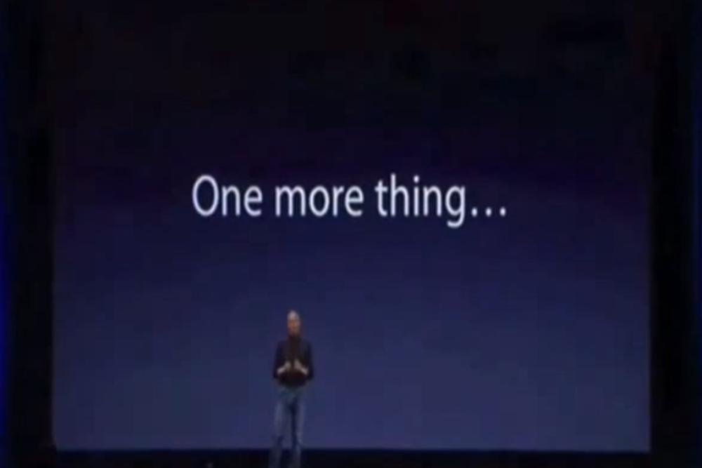 引用賈伯斯名言「One more thing」 知名爆料者曝今年Apple藏有大驚喜!