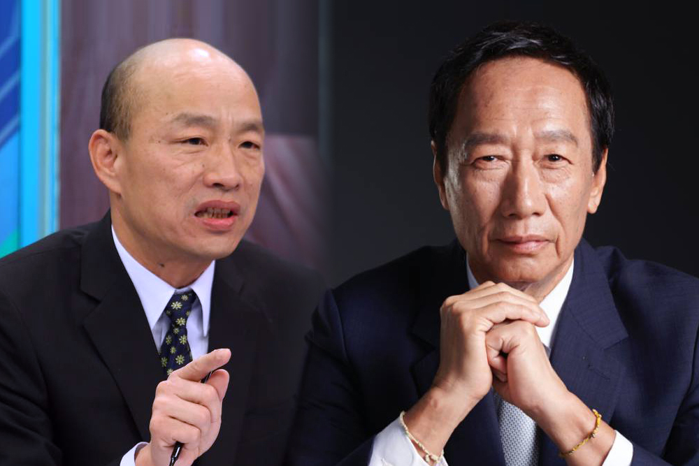 壓倒性勝利!初選韓國瑜大贏郭台銘17% 《匯流民調》上週就神預測