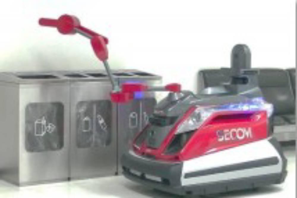 為了東奧做準備!日本成田機場引進「保全機器人」全方位顧維安