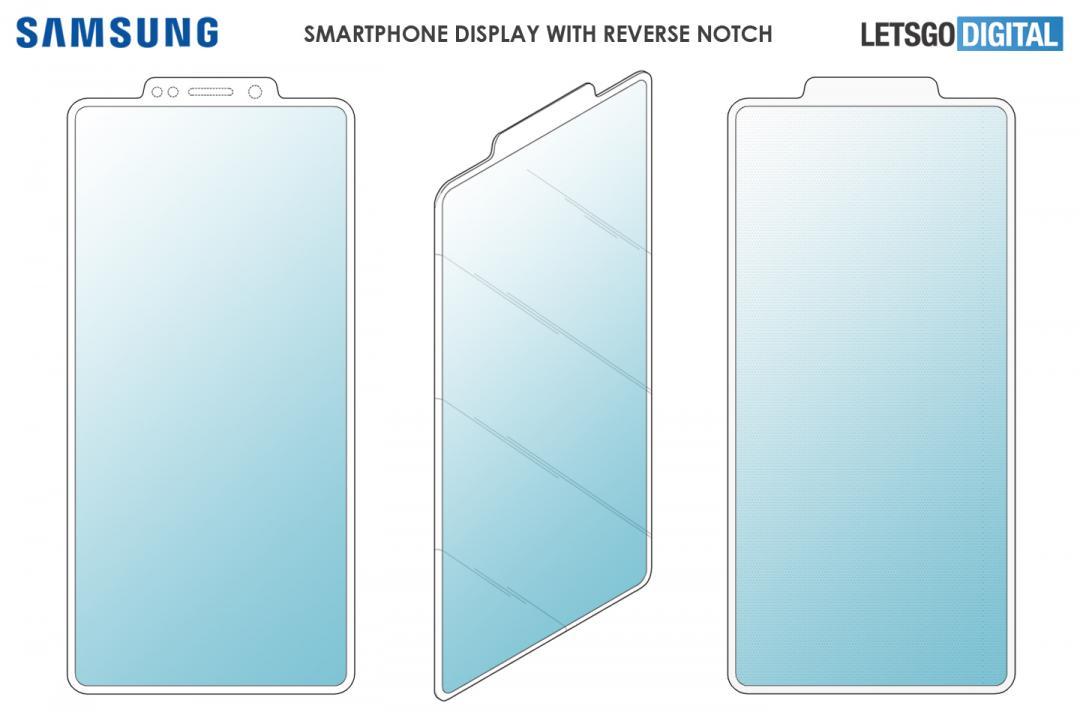 不想開發全螢幕手機?三星最新專利曝光 竟是「凸瀏海」設計