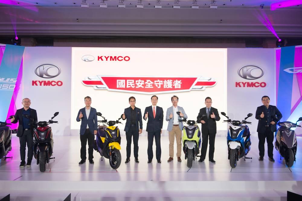 KYMCO最新全球戰略車現身 跑酷125瞄準全球最大125市場