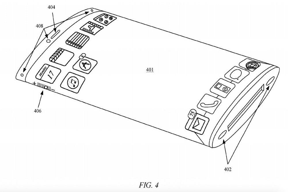 宛如科幻電影!蘋果最新iPhone專利曝光 整支手機都是玻璃螢幕