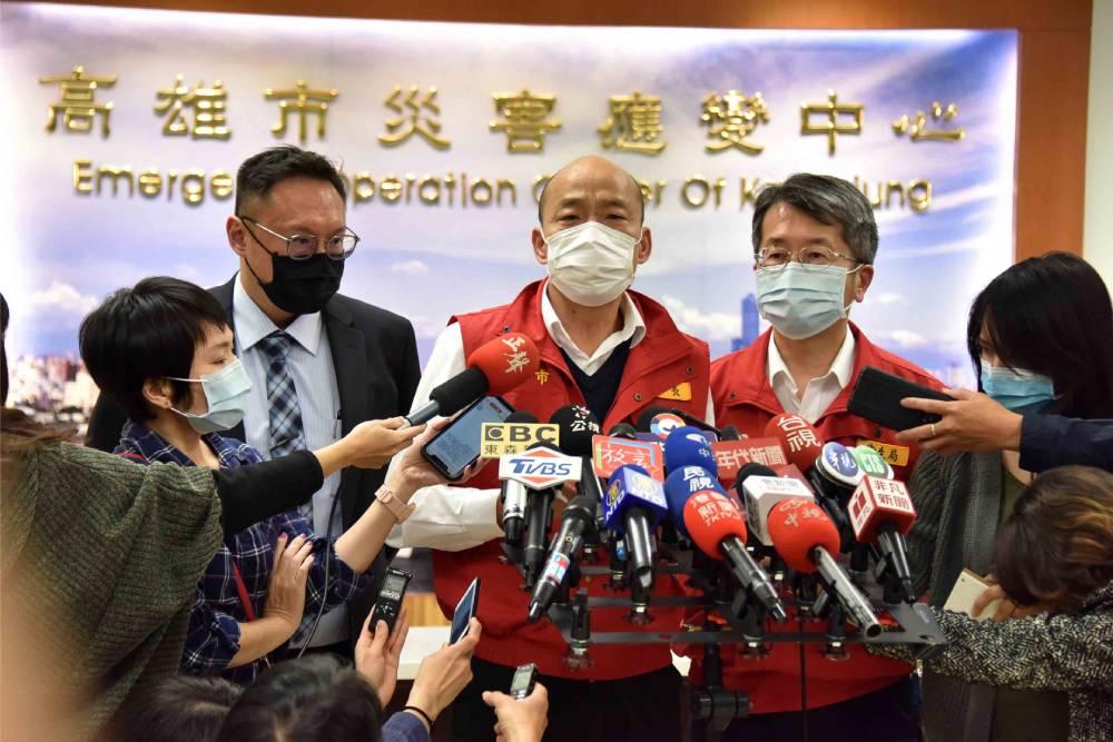 第4次防疫會議  韓國瑜:配合中央滾動式調整並全力以赴