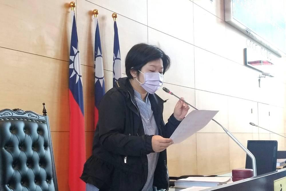 臺中市副議長顏莉敏:居家檢疫替代所數量應增加及入住補貼房價
