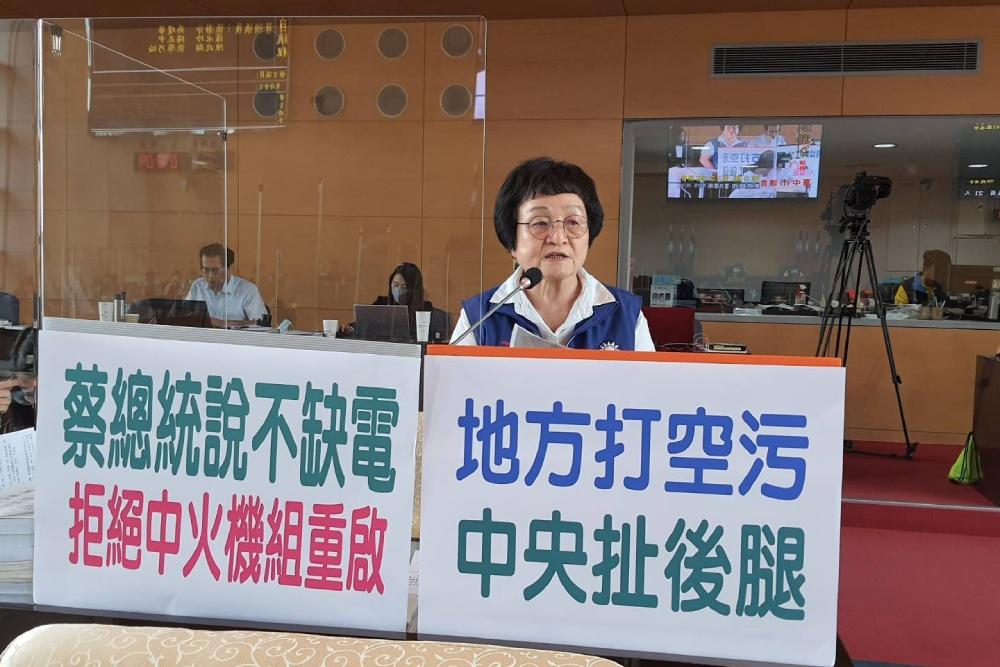 台中環保局長吳志超:中火如重啟2部機組會有不宜公開的稽查手段