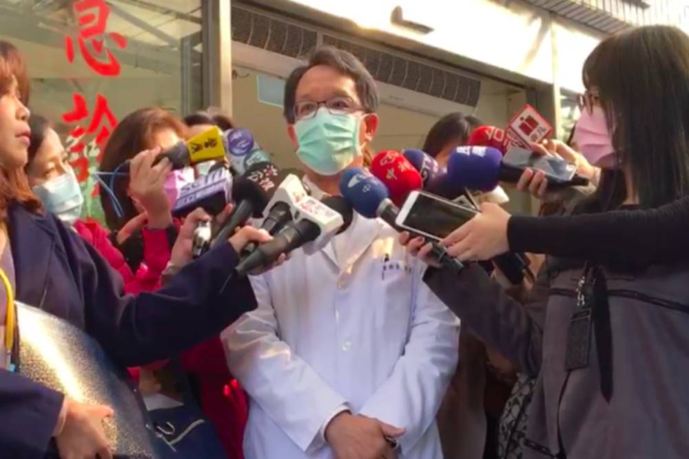 北市聯醫流感群聚1死  院方:嚴格人員管制
