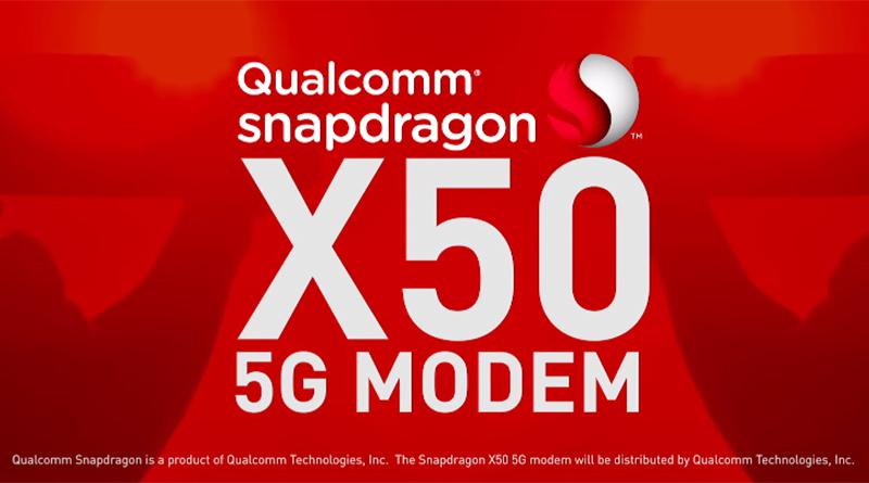 高通推出全球第一款5G modem晶片