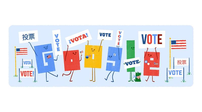 美國總統大選開跑,Google用30種語言即時開票
