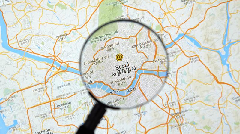 Google Map在韓國變難用? 原因在於國安