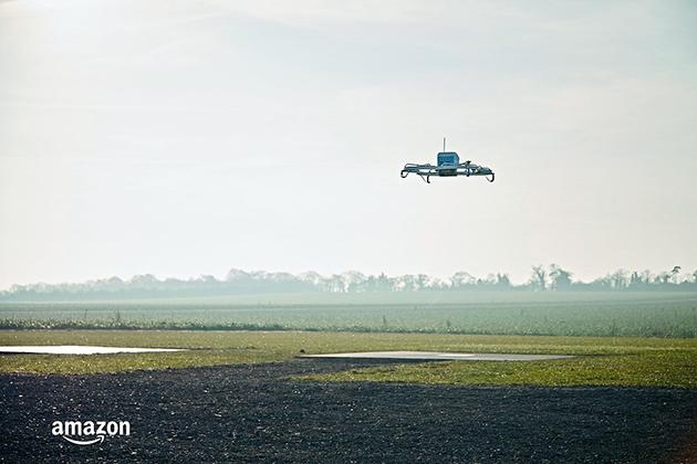 Amazon宣布完成首次無人機配送!