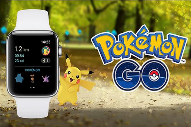 終於盼到!Apple Watch上也可玩Pokémon GO