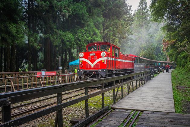 阿里山森林鐵道年虧3億元 恐將走入歷史