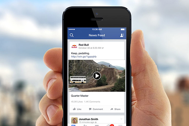 Facebook開始測試 未來影片中將插播廣告