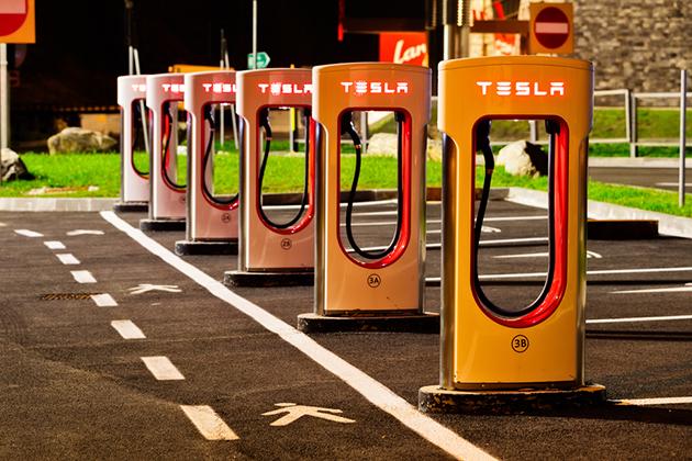 Tesla全台首座超級充電站 1月23日花博園區啟用