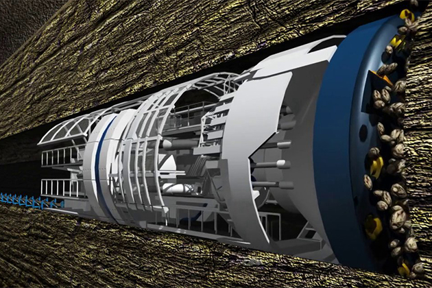 Tesla創辦人:要用地底隧道解決塞車問題
