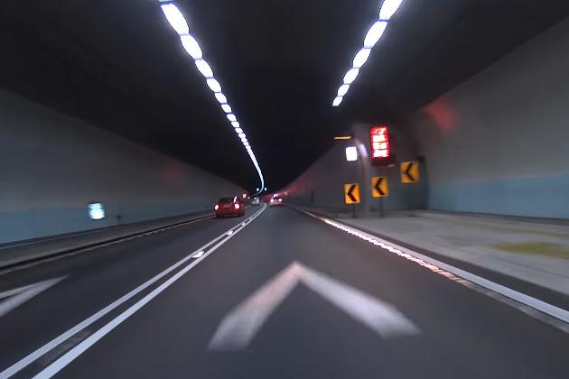 雪隧行車最低速限 10日起提高時速70公里