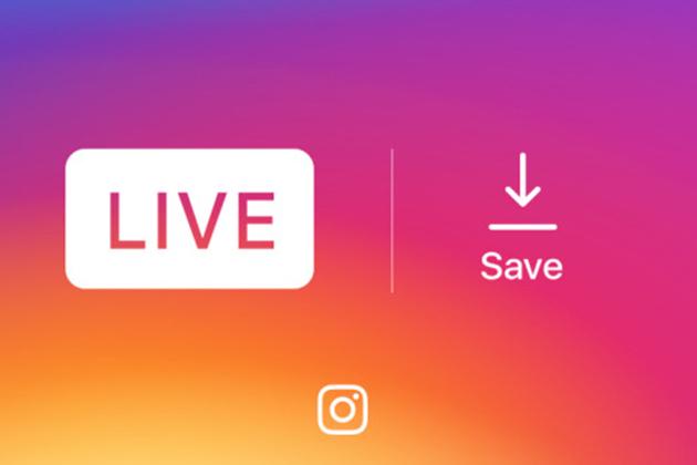 不再船過水無痕,Instagram現在可儲存直播影片了