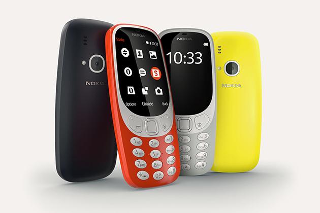 Nokia 3310 4月底上市,台灣只能拿來收藏
