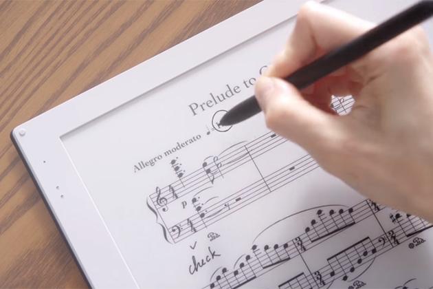 雙螢幕電子紙樂譜將於9月份正式上市,迎來樂譜革命?