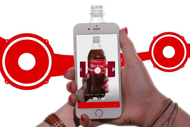 AR廣告夯!加拿大可口可樂要用瓶身聽189種Spotify歌單