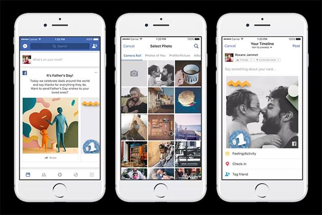父親節將至 Facebook、Google推新功能慶祝