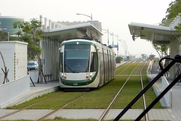 高雄輕軌C8至C12站 營運前改善4缺失即能通車