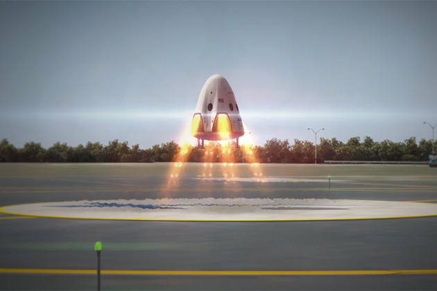 SpaceX「天龍號」回家了 二次平安返航寫太空船歷史