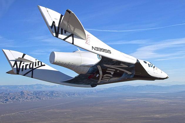 要做太空旅行首航者 維珍銀河搶2018年年中起飛