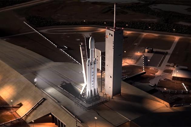 SpaceX大型火箭 Falcon Heavy 今年11月可能發射!
