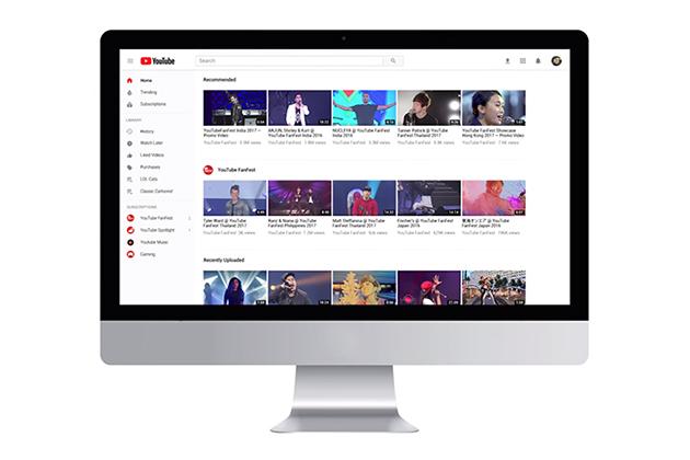 YouTube全球大更新 外在、內在都升級