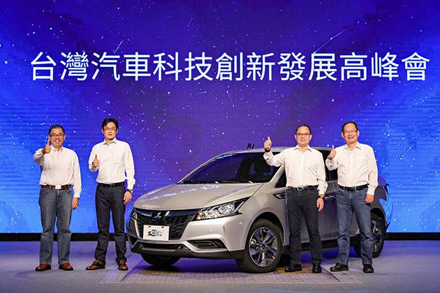 裕隆率臺灣車業秀MIT技術 電動車、自駕有一套