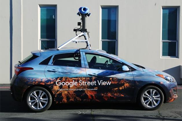 Google街景車脫掉8年舊裝 新相機用AI學習街道景象