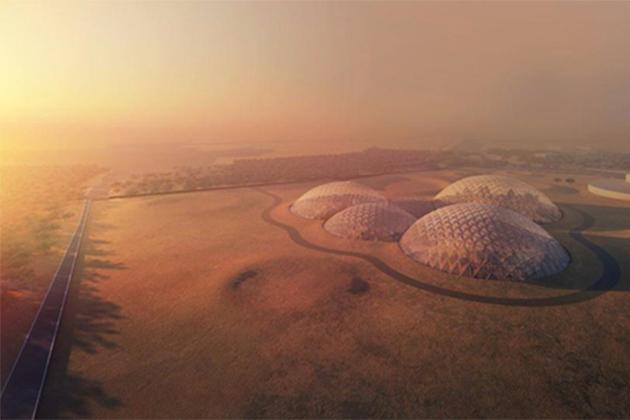 阿聯酋砸42億 建杜拜沙漠火星模擬城市